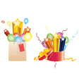Celebration Gifts vector image