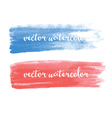 Watercolor stroke vector image vector image