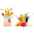 Celebration Gifts vector image