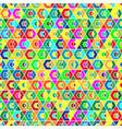 geometric seamless background pattern vector image