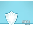 shield background made in modern clean and vector image