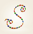 Circus wire plastic abc vector