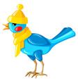 bird hat vector image vector image
