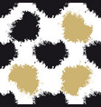 decorative seamless spots pattern vector image