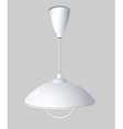 hanging light vector image vector image