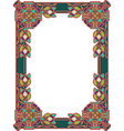 Frame in Celtic style vector image vector image