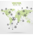 Abstract technology concept design vector image