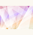 modern hipster abstract triangular background vector image