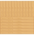 Background from wooden boards vector image vector image