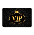 VIP Members Card vector image