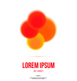 Abstract Colorful Logo Design Template for Your vector image