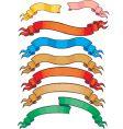 colour banners set vector image