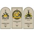 olive oils vector image
