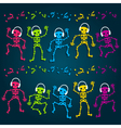 Party Skeletons vector image