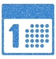 First Day Grainy Texture Icon vector image