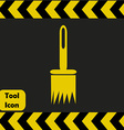 Paintbrush icon vector image vector image