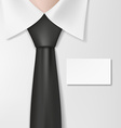 Man in a shirt vector image