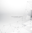 clean geometrical shapes technology background vector image