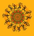 African dancers vector image