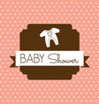 bebi shower1 resize vector image
