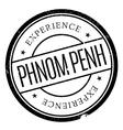 Phnom Penh stamp vector image