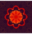 Beautiful Indian floral seamless ornament print vector image