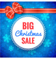 Big Christmas Sale Frame vector image