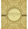 Stylish vintage frame vector image vector image