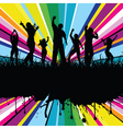 colourful party vector image vector image