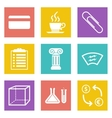 Icons for Web Design and Mobile Applications set 6 vector image