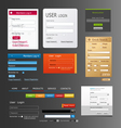 elements web design vector image