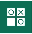 Noughts and crosses game vector image