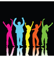 colourful people vector image