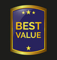 best value label vector image