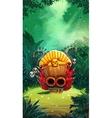 Jungle shamans mobile GUI main window vector image
