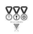 Billiards Set vector image