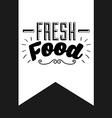 food label vector image