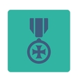 Maltese cross icon from Award Buttons OverColor vector image