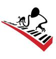 pianist vector image