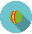 children icon Green ball vector image