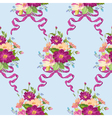 Spring Flowers Backgrounds vector image vector image