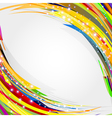 Abstract circles lines background for your text vector image