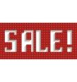 sale word vector image