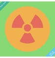 Nuclear sign representing the danger of radiation vector image