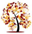 Autumn wedding tree vector image