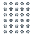 Traces of Cat Icons Set vector image vector image