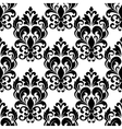 Vintage seamless floral pattern with arabesque vector image