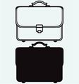 Business briefcase vector image