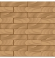 Seamless wood texture brown vector image