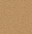 Texture of yellow sand vector image